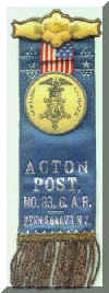 Acton Post Ribbon